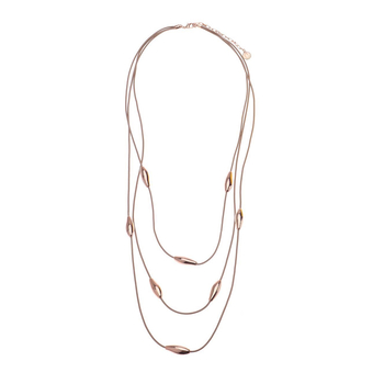 Necklace<br>Three rosegold