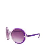 Sonnenbrille<br>lila transparent